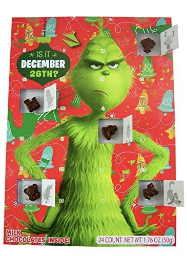 [해외]그린치 어드벤트 캘린더 및 초콜릿 스타킹 / The Grinch Advent Calendar and Chocolate Stocking