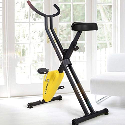 垂直方向の折り畳み式のフィットネス自転車の有酸素トレーニング自転車