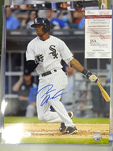 TIM ANDERSON CHICAGO WHITE SOX SIGNED AUTOGRAPHED ACTION 11X14 PHOTO JSA WP99359