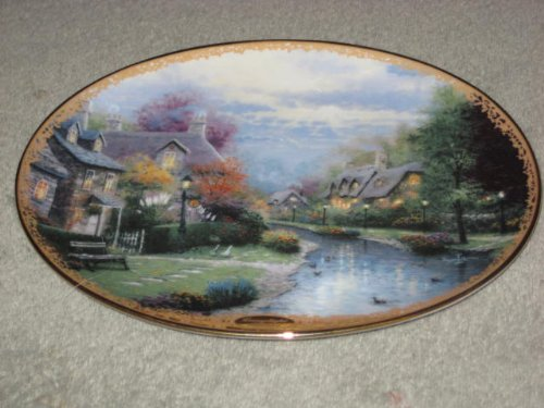 Thomas Kinkade Collector Plate - 9