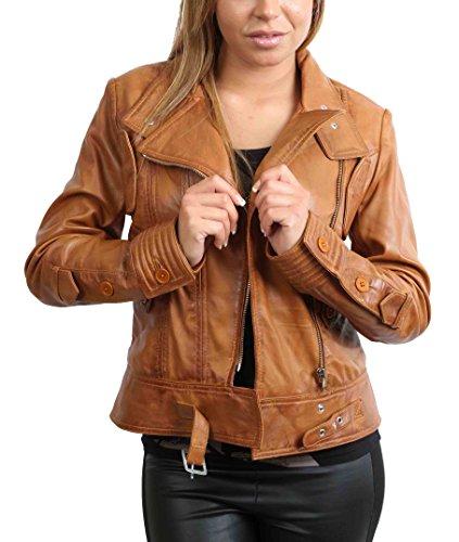 Longues Goods Peau Blouson Manches A1 Fashion Femme SHRqOP