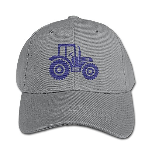 Country Farm Blue Tractor Unisex Kids Peaked Hat Boys Girls Baseball Cap Adjustable Four Seasons