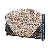 Cheap Log Rack Length: 4′, Sides: Straight