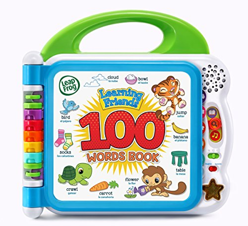 LeapFrog Learning Friends 100 Words Book, Green -