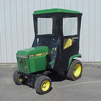 John Deere 318 >> Amazon Com Hard Top Cab Enclosure Fits John Deere 318 420 And 430