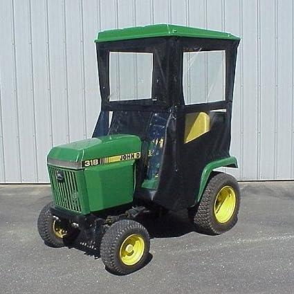 John Deere 318 >> Amazon Com Hard Top Cab Enclosure Fits John Deere 318 420
