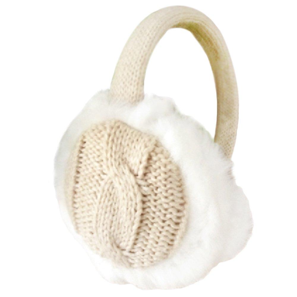 Jiacheng29 Women Girl Winter Warm Kint Earmuffs Earwarmers Ear Muffs Earlap Warmer Headband
