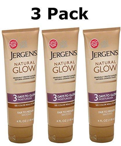 Jergens Natural Glow Fair to Medium Skin - Tanning Moisturiz
