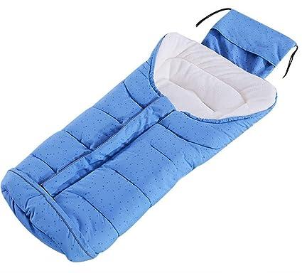 Lvbeis Cochecito De Bebé Saco De Dormir TéRmico Saco Al Aire Libre Swaddle Wrap Manta Anti