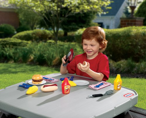 Large Product Image of Little Tikes Backyard Barbeque Grillin' Goodies
