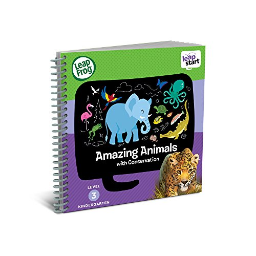 Leappad Interactive Book (LeapFrog LeapStart Kindergarten Activity Book: Amazing Animals and)
