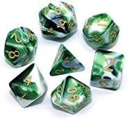 HD Dice Set RPG Polyhedral Dice for Dungeons and Dragons(D&D) Pathfinder Table G