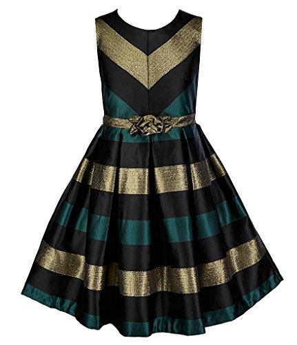 formal denim dress - 9