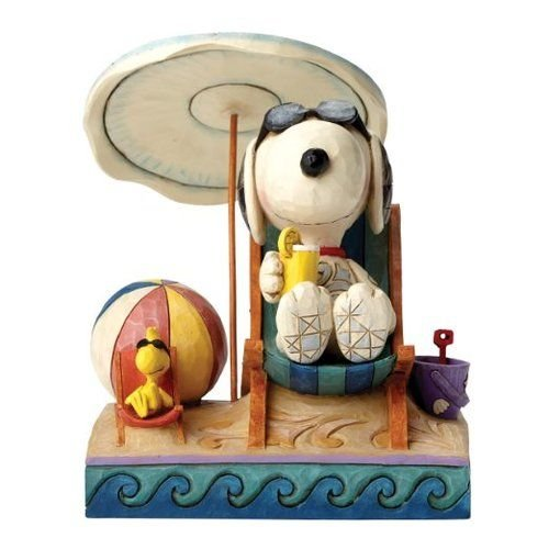 Enesco Peanuts Day at the Beach -