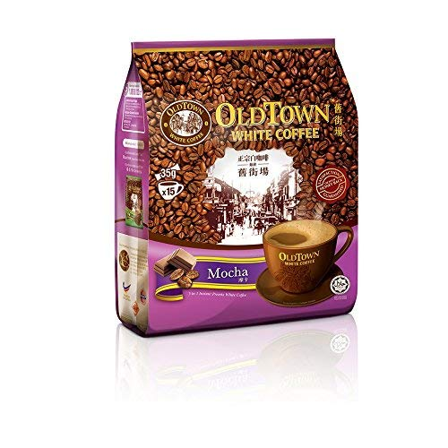 - Malaysia Old Town White Coffee/Mocha Flavor/Perfect Union Of Cocoa 'n White Coffee Blend/Irresistible Coffee Treat/Perfect Coffee Fix On-The-Go/15s x 35g