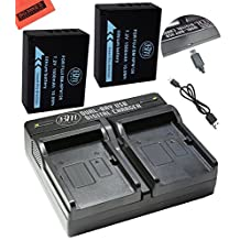 BM Premium 2-Pack of NP-W126 Batteries and USB Dual Battery Charger Kit for Fujifilm FinePix X-Pro1, X-Pro2, HS30EXR, HS33EXR, HS35EXR, HS50EXR, X-A1, X-A2, X-E1, X-E2, X-E2S, 1 X-M1, X-T1, X-T10 Digital Camera