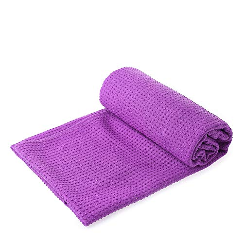 Amazon.com : MFEI Yoga Mat Towels Yoga Towel Womens Grip ...