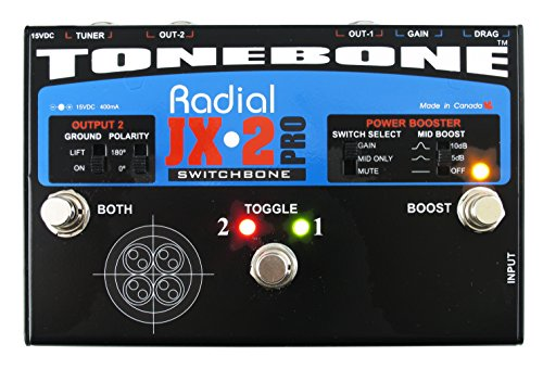 Mesa Boogie Triple Rectifier - Radial Tonebone JX-2 Pro Switchbone ABY Amp Switcher