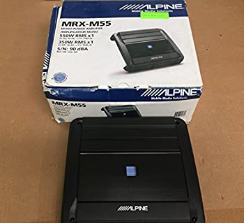 Alpine Mrx-m55 X-power Series Mono Power Digital Amplifier 0
