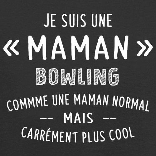 une maman normal bowling - Femme T-Shirt - Noir - L