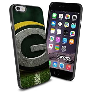 Green Bay Packers Logo Apple Smartphone iPhone 6 4.7 inch Case Cover Collector TPU Soft Black Hard Cases by runtopwell