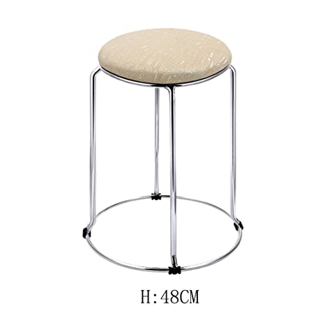 Superb Amazon Com Hetao Creative Modern Kitchen Stools With Metal Caraccident5 Cool Chair Designs And Ideas Caraccident5Info