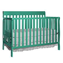 Dream On Me Alissa Convertible 4-in-1 Crib, Emerald