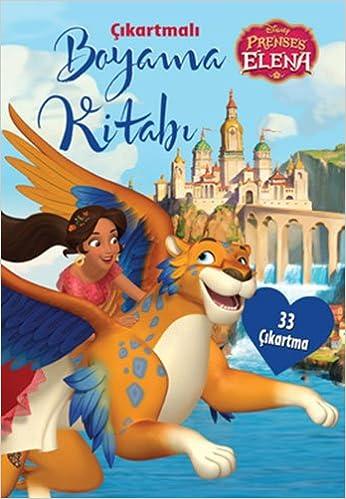Disney Prenses Elena Cikartmali Boyama Kitabi Collective