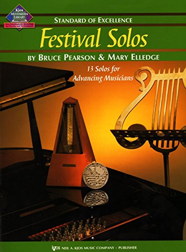 W39BN - Standard of Excellence - Festival Solos Book 3 - Bassoon