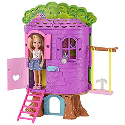 Barbie Club Chelsea Treehouse House: Toys & Games