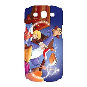 Special Design Case Samsung Galaxy S3 I9300 White Cell Phone Case Mutng The Sword in the Stone Durable Rubber Cover
