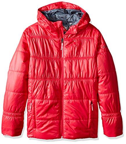 Columbia Girls Shimmer Me II Jacket, X-Large, Punch Pink