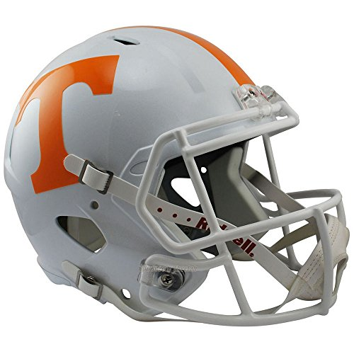 Mini Tennessee Helmet Replica (Riddell Tennessee Volunteers Officially Licensed NCAA Speed Full Size Replica Football Helmet)