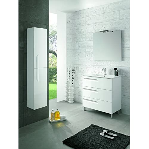 Eviva EVVN23-24WH-Vitale Vitta 24 inch White Modern Bathroom Vanity with Integrated Porcelain Sink Combination best