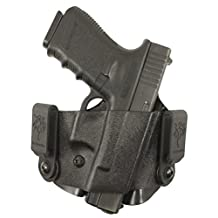 Desantis 121KAL7Z0 Scorpion II Holster Fits S and W, M and P Compact 9/40, Right, Black Color