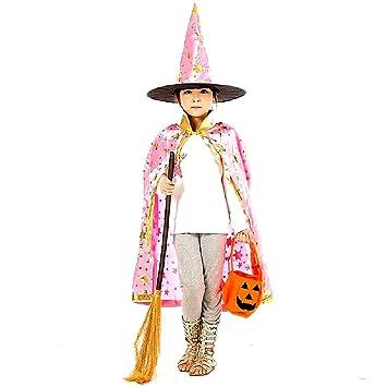 Capa - sombrero de bruja - bruja - mago - mago para disfraz ...