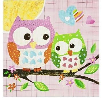 Oopsy Daisy Too Owl Wall Art (21 X 21u0026quot;)
