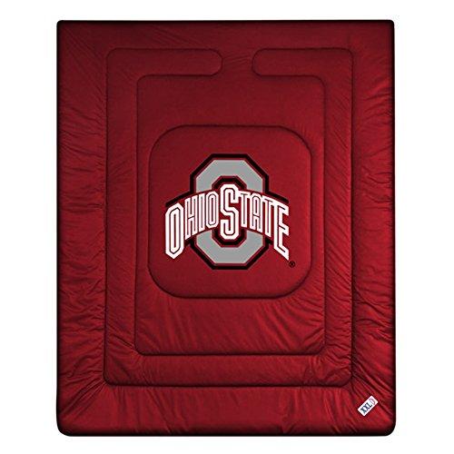 Buckeyes Locker Room Comforter (Sports Coverage College Locker Room Comforter)