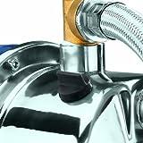 Einhell-Hauswasserwerk-BG-WW-1038-N-1000-W-3800-lh-Frdermenge-20-l-Behlter-Edelstahlpumpengehuse-Manometer