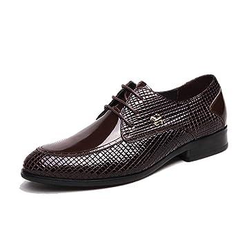 ChengxiO Zapatos de Cuero para Hombre Zapatos de Cuero ...