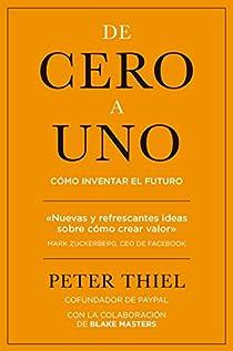 De cero a uno par Thiel
