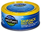 Wild Planet Skipjack Wild Tuna (Light Tuna), 5 oz Cans (Pack of 12)