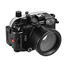 Andoer MEIKON Waterproof Camera Diving Housing Protective Case Cover Underwater 40m/130ft for Canon G7X Mark II