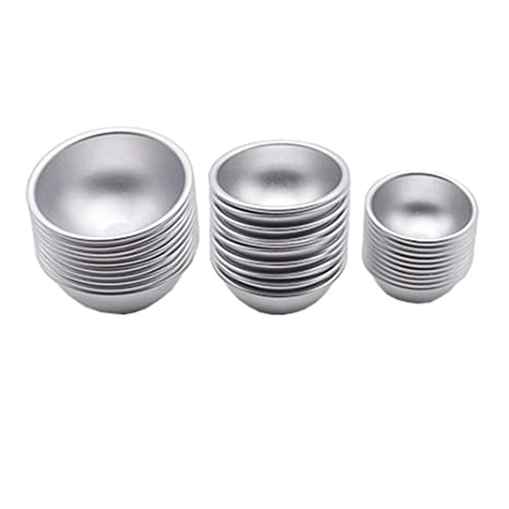 SUPERLOVE Molde para Hornear Metal De Aluminio,Molde De Pastel De Galleta Tarta De Huevo