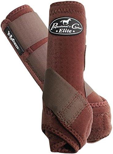 Professionals Choice Equine Sports Medicine Ventech Elite Leg Boot Value Pack, Set of 4 Small, Black