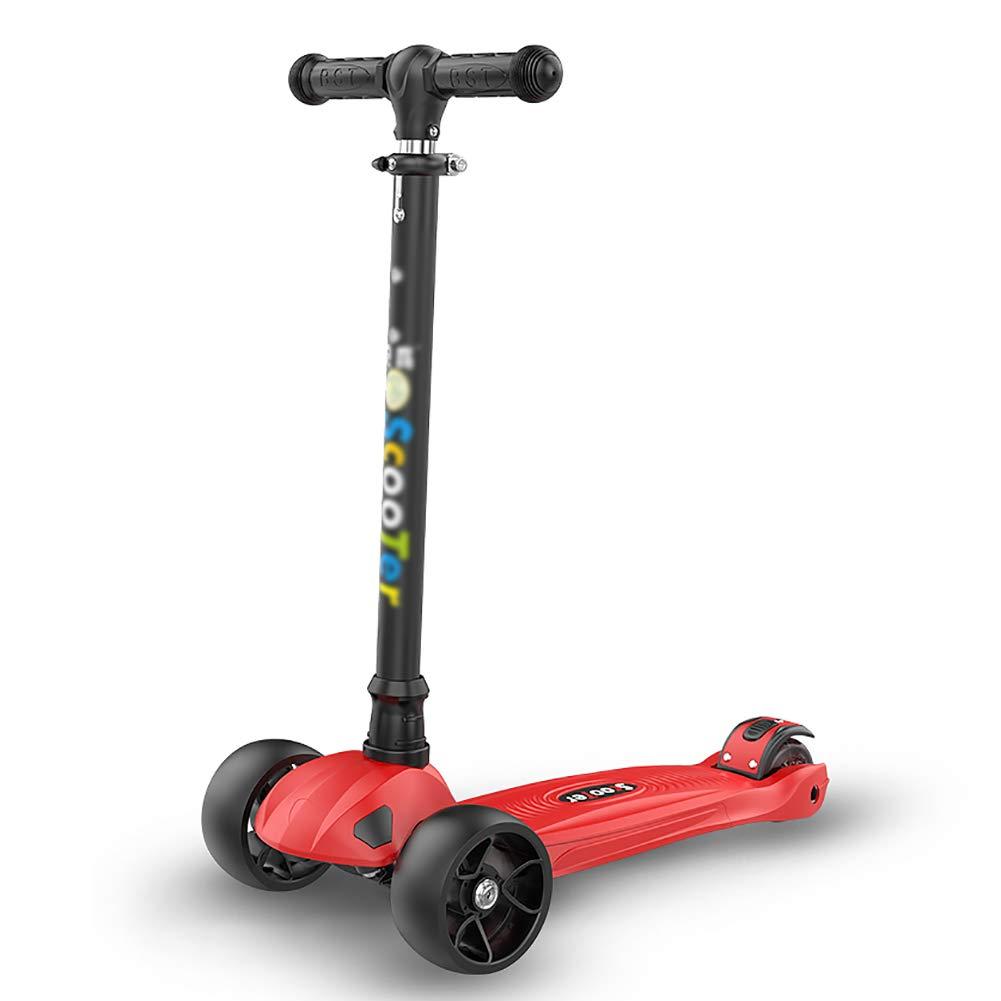 Patinetes de tres ruedas Scooter clásico para niños, manijas ...