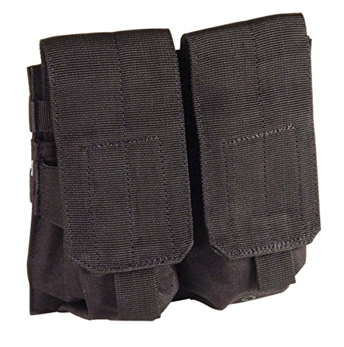 VooDoo Tactical 20-7331001000 M4/M16 Mag Pouch, Black, Double