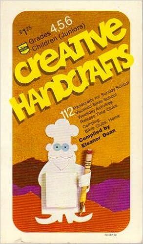 Book Creative Handcrafts Grades 4,5,6 Children (Juniors)