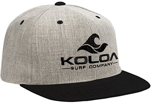fb3b8fa41f5 Joe s USA Koloa Surf-Classic Wave Logo Snapback Hats Heather-Black Black -  Buy Online in Oman.