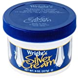 Wright's Silver Cream Polish, 8 Ounce (Pack of 2)
